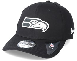 Seattle Seahawks Monochrome 3930 Black Flexfit - New Era