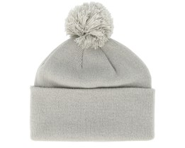 Original Pom Pom Light Grey Beanie - Beanie Basic