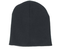Knitted Black Beanie - Beanie Basic