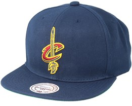 Cleveland Cavaliers Wool Solid Snapback - Mitchell & Ness