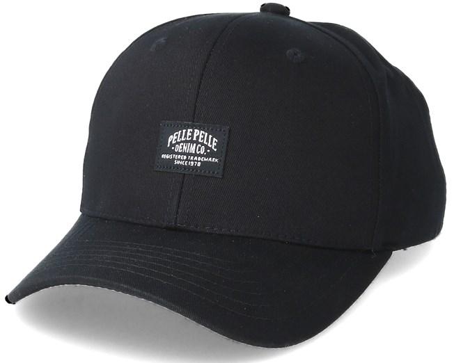 Core Label Black Adjustable - Pelle Pelle caps  2f7d0aea17c0