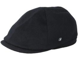 City Sport Sixpence Black Flatcap - City Sport