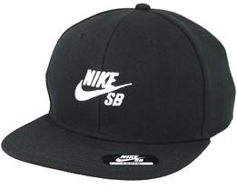 Kids Icon Black Snapback - Nike