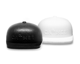 Cap Black & White 2-pack - CapMee