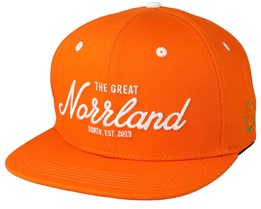 Great Norrland Orange Snapback - Sqrtn
