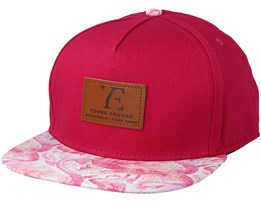 Kids Flamingo Pink Snapback - Young Enough