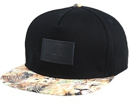 Kids Lion Black Snapback - Young Enough