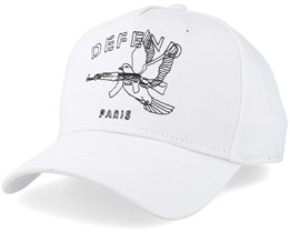 Colombe White adjustable - Defend Paris