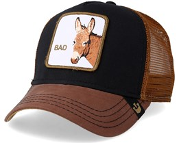 Bad Ass Trucker Black/Brown - Goorin Bros.