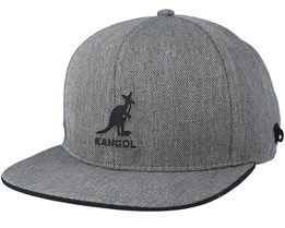 Fashion Bad Habit Grey Snapback - Kangol