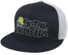 Origin Black/Grey Fitted  - Metal Mulisha