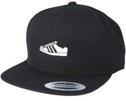 Black/White Shoe Black Snapback - Sneakers