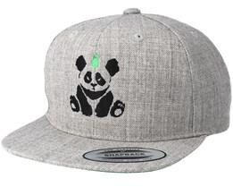 Panda Grey Kids Snapback - Kiddo Cap