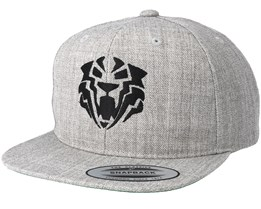 Kids Tiger Black Grey Kids Snapback - Kiddo Cap