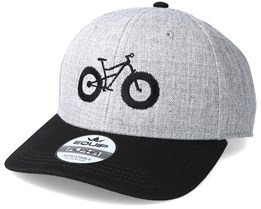Fat Bike Heather Grey/Black Adjustable - Bike Souls