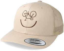 Smile Bike Beige/Brown Trucker - Bike Souls