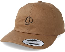 Bike Cap Tan/Black Adjustable - Bike Souls