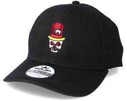 Skull Hat Black Adjustable - Tattoo Collective