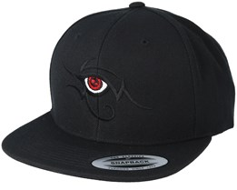 Tribal Eye Black Snapback - Tattoo Collective