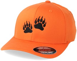 Bear Prints Orange Flexfit - Hunter