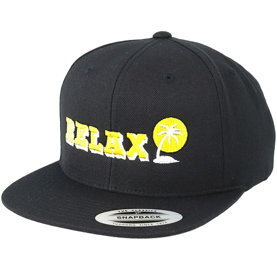 relax black snapback wild spirit cap. Black Bedroom Furniture Sets. Home Design Ideas