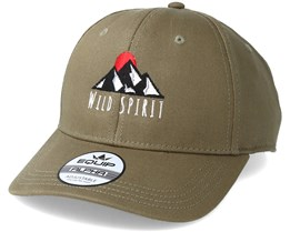 Logo WS Olive Adjustable - Wild Spirit