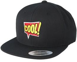 Cool Talk Black Snapback - BOOM