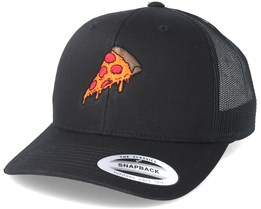 Pizza Time Black Trucker - BOOM