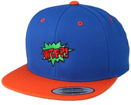 WTF Is Going On Blue/Orange Snapback - BOOM