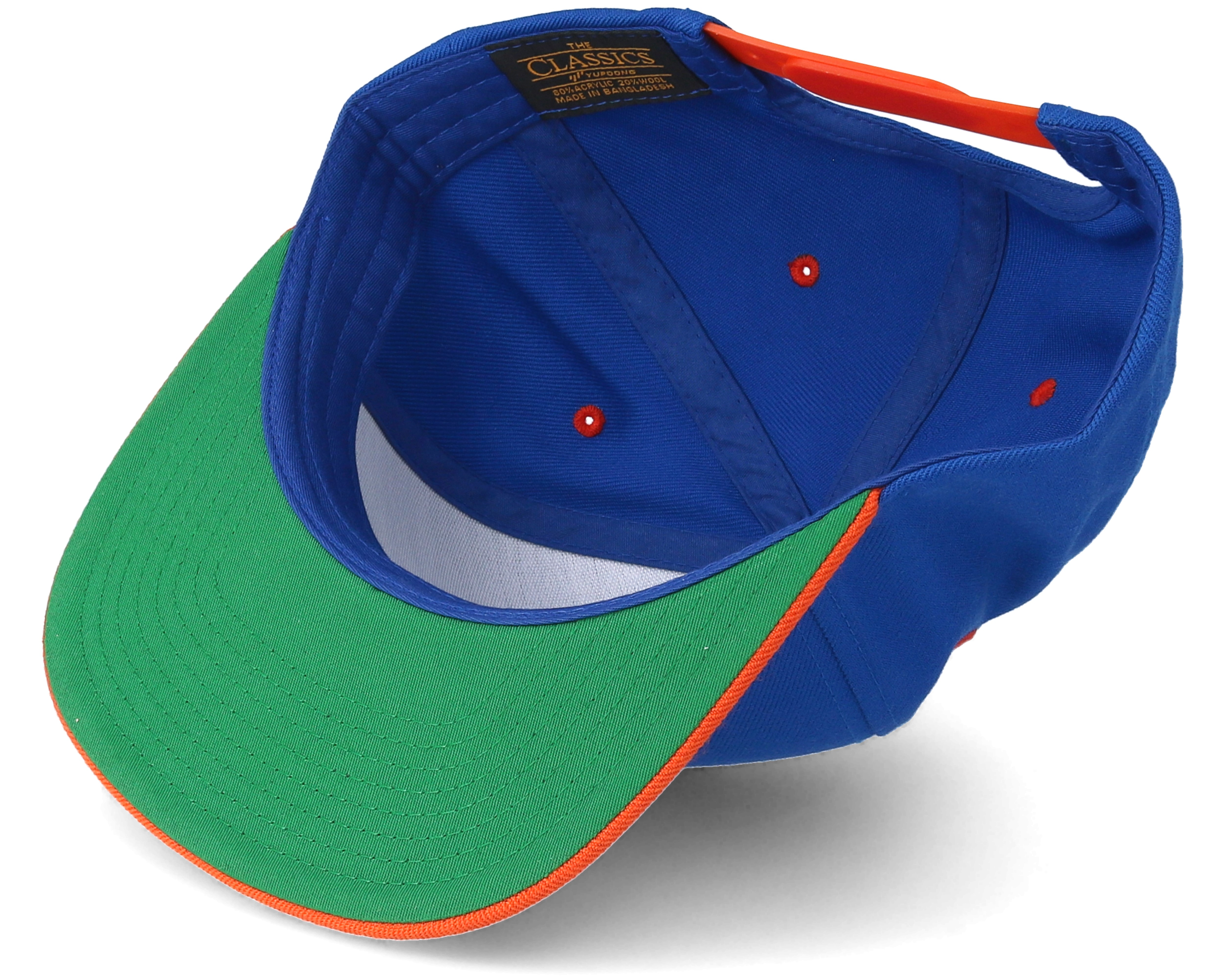 Wtf Is Going On Blue Orange Snapback Boom