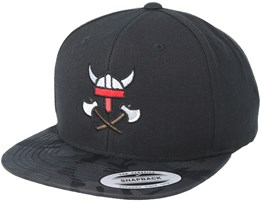 Helm & Axes Black Camo Snapback - Vikings