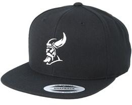 Silhouette Black Snapback - Vikings