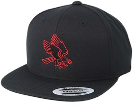 Eagle Red/Black Snapback - Eagle