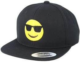 Emoji Cool Black Snapback - Iconic