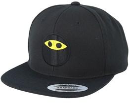 Emoji Ninja Black Snapback - Iconic