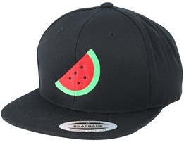 Emoji Watermelon Black Snapback - Iconic