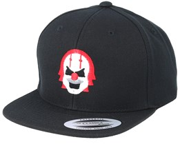 Kids Emoji Clown Black Snapback - Iconic