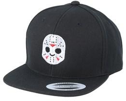 Kids Emoji Hockey Mask Black Snapback - Iconic