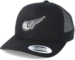 Rolling Wings Black Trucker - Born To Ride