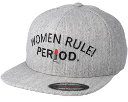 Women Rule Grey Fitted - Period