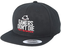 Gamers Don't Die Black Snapback - Gamerz