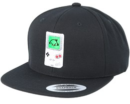 Game Guy Black Snapback - Gamerz