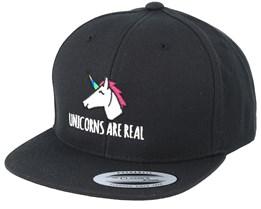 Kids Unicorn Are Real Black Snapback - Unicorns