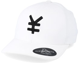 Yen Delta White/Black Flexfit - Yapan