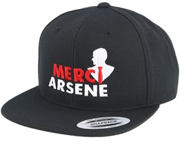 Merci Arsene Black Snapback - Forza