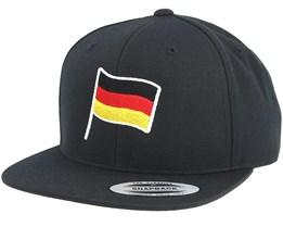 German Flag Black Snapback - Forza