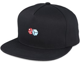 Ivy League Black Snapback - Primitive Apparel
